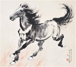 Xu Beihong, Running Horse