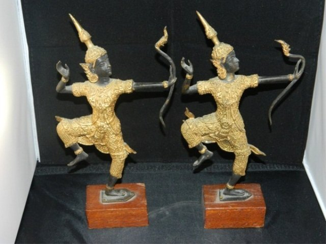 Pair of Balinese Dancers