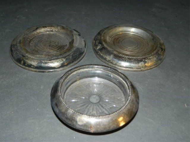 Weighted Sterling Coasters