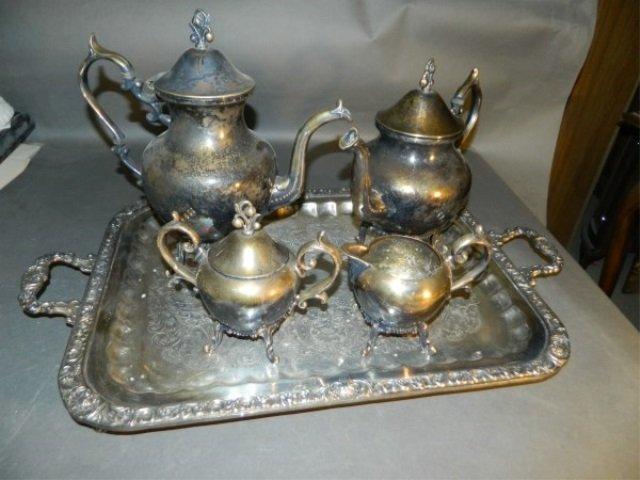 Beautiful Silver Tea & Coffee Set