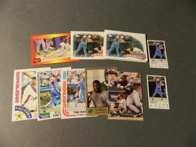 15 Card Tim Raines Lot