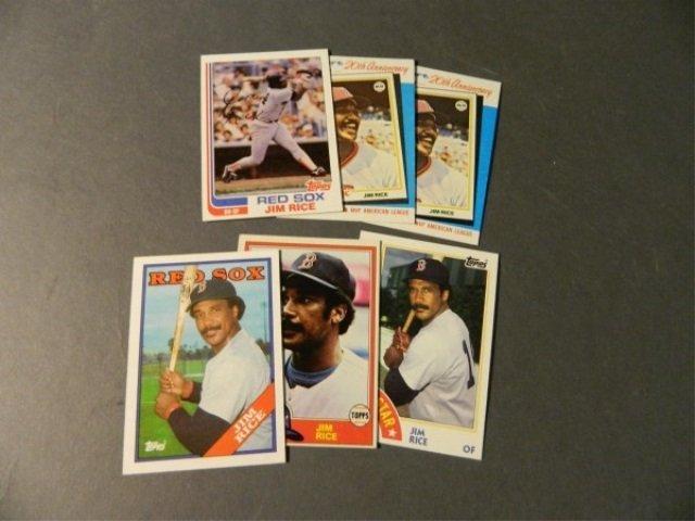 6 Card Jim Rice Lot