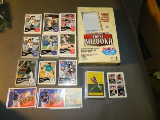 2003 Bazooka Baseball : 100+ Cards & Inserts