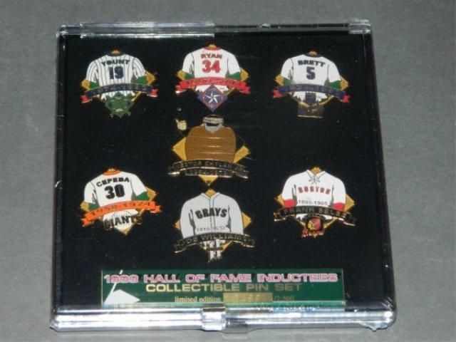 1999 HALL OF FAME INDUCTEES PIN SET