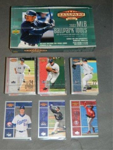 2002 UD MLB Ballpark Idols  Lot