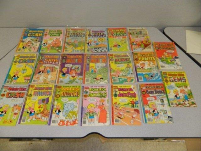 Lot of 20 Richie Rich Comics