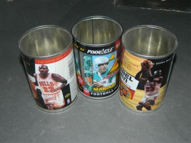 Lot of 3 Sports Cans