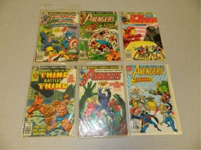 Lot of 6 Older Comics