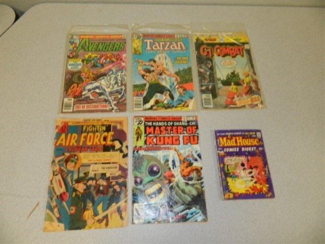Lot of 6 Old Comics