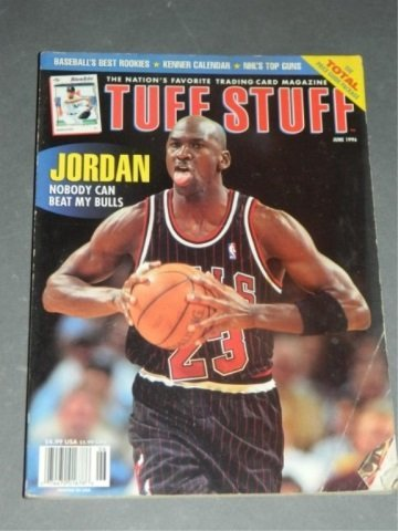 Tuff Stuff : June 1996 - Michael Jordan