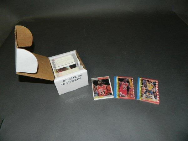 1987-88 Fleer Basketball Set - Jordans inc