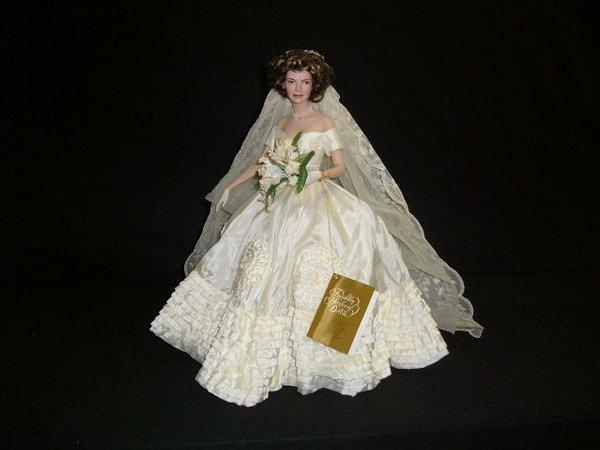 "1: ""Jacquline Kennedy"" Doll"
