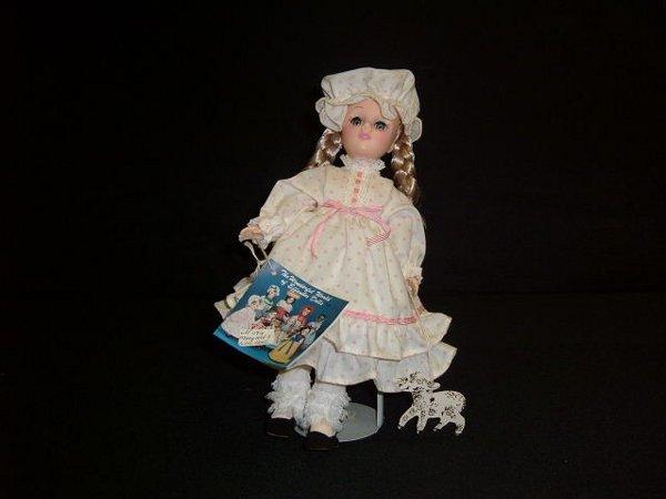 "15: ""Mary Had A Little Lamb"" Doll"