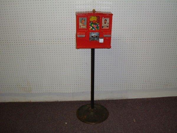 224: Premier Gum and Card Vendor Machine