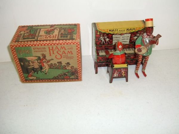 125:Ham and Sam Wind-Up Toy (Near Mint With Box)