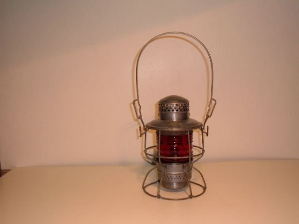 2 Railroad Lantern Marked: P.R.R.