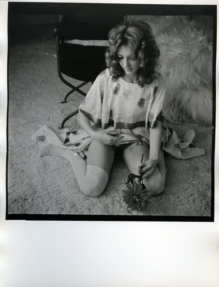 Original Photograph of Marianne Gordon by Bob Guccione