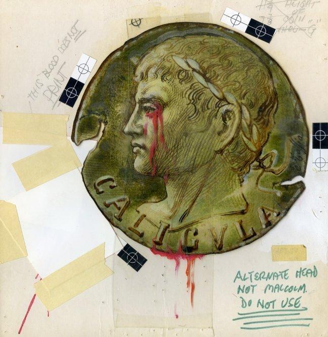 Orig 1979 Caligula Film Concept Poster Art by Guccione