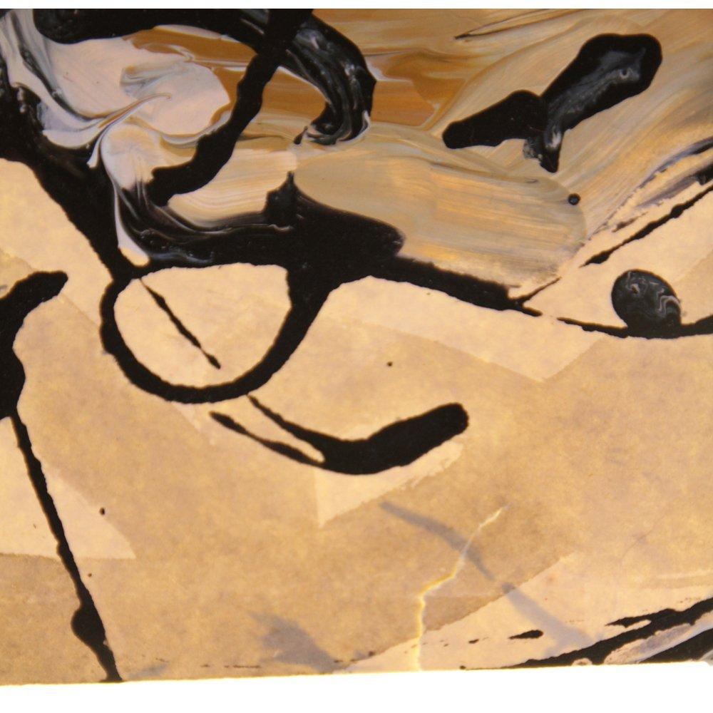 Original Watercolor & Acrylic By Baniprosonno 13.5x14 - 10