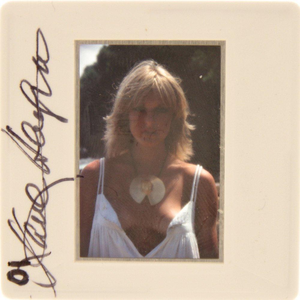 Jane Hargrave Signed 35mm Slide By Bob Guccione