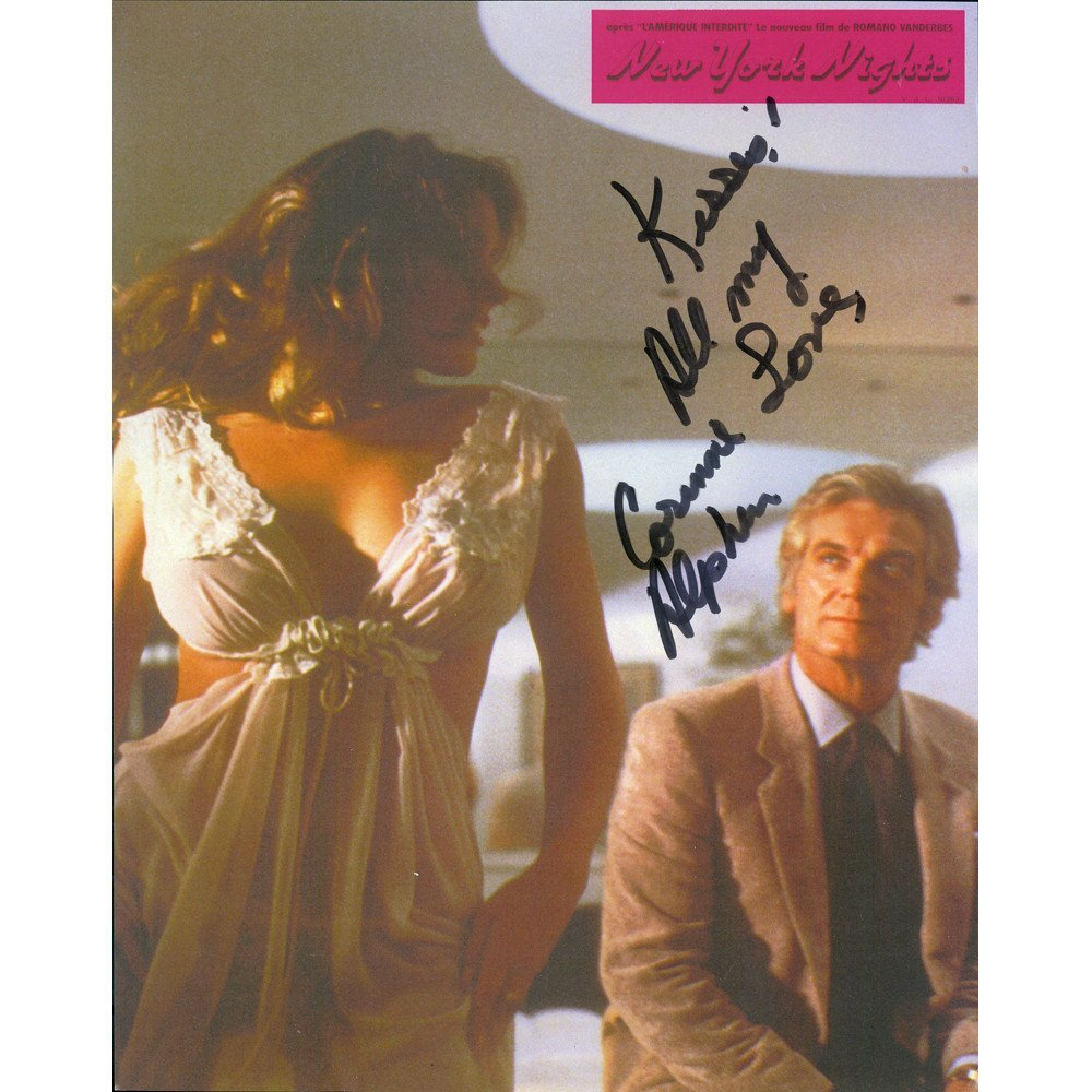 Corinne Alphen Signed New York Nights Poster