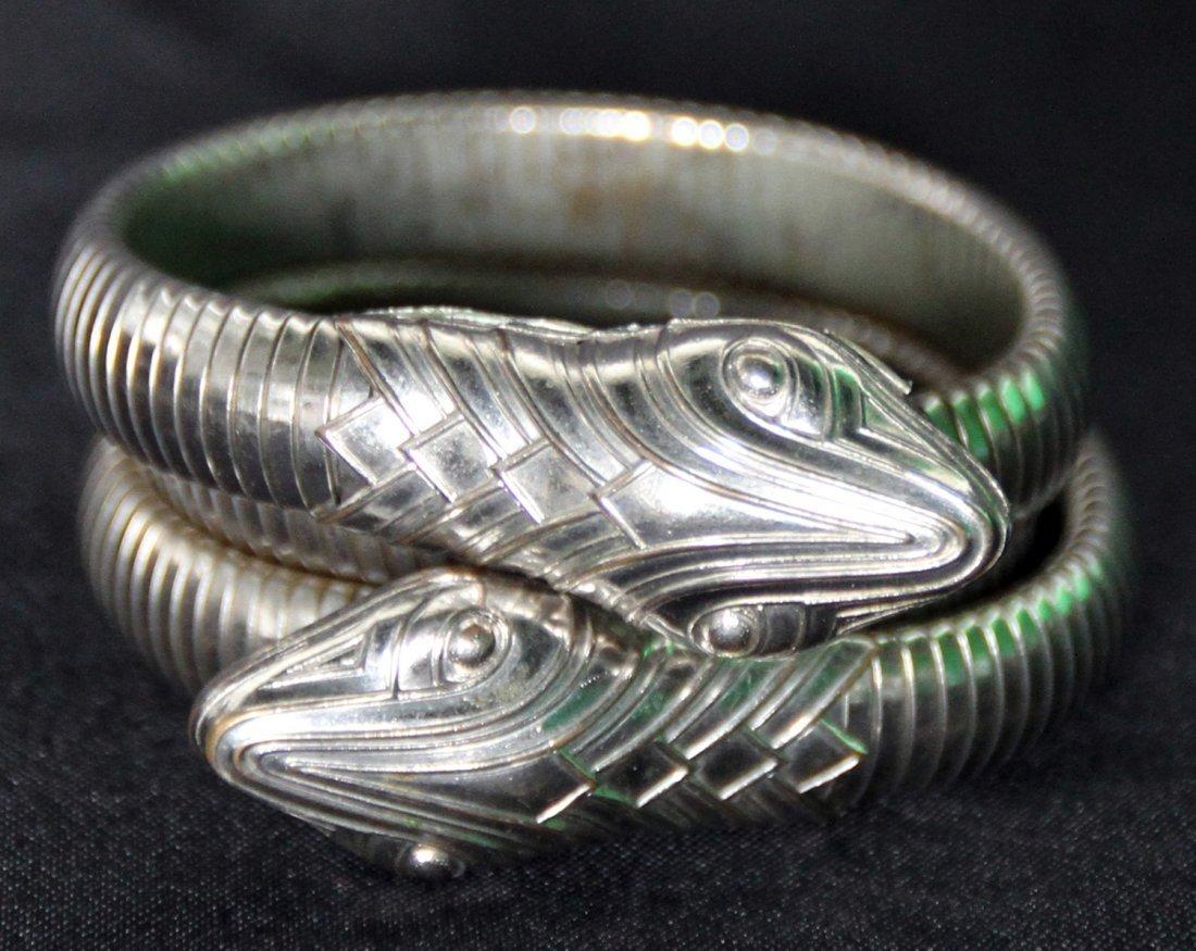 Penthouse Kathy Keeton's Snake Wrap Bracelet