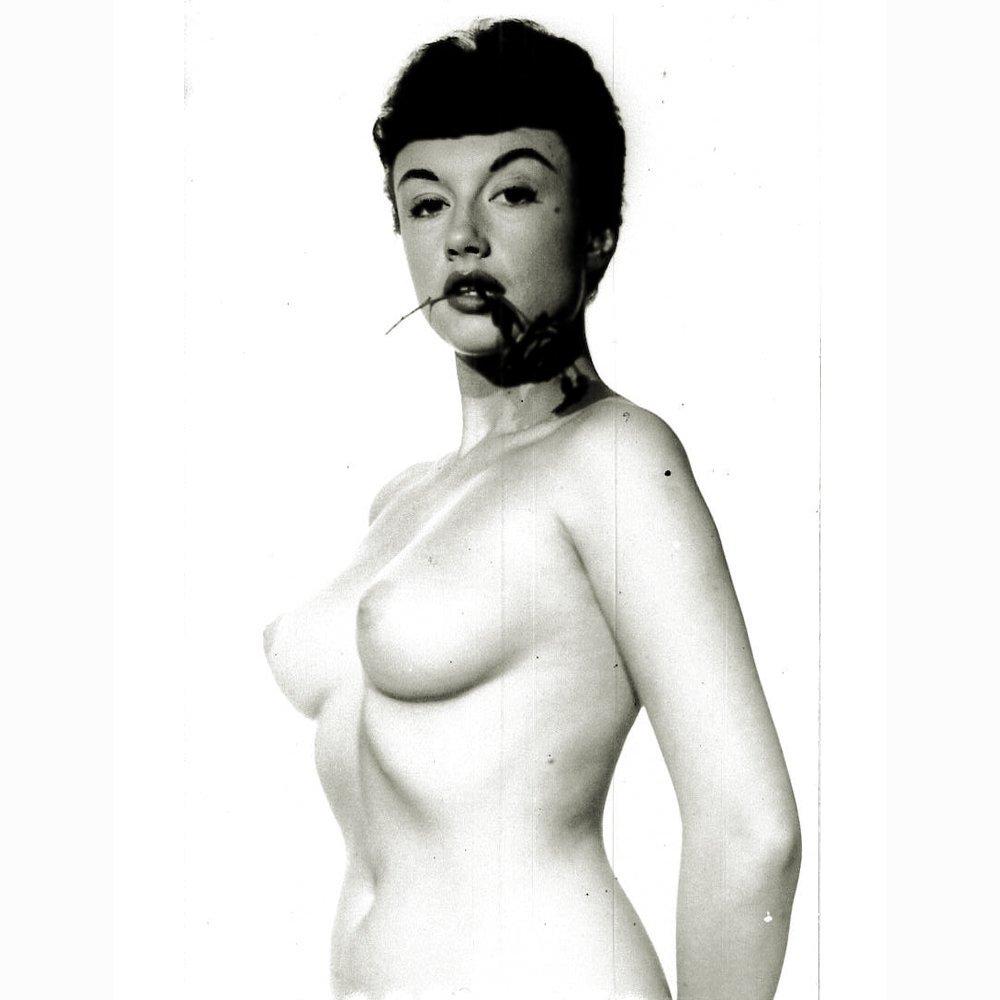 Silver Gelatin Photo of Pamela Green by Harrison Marks
