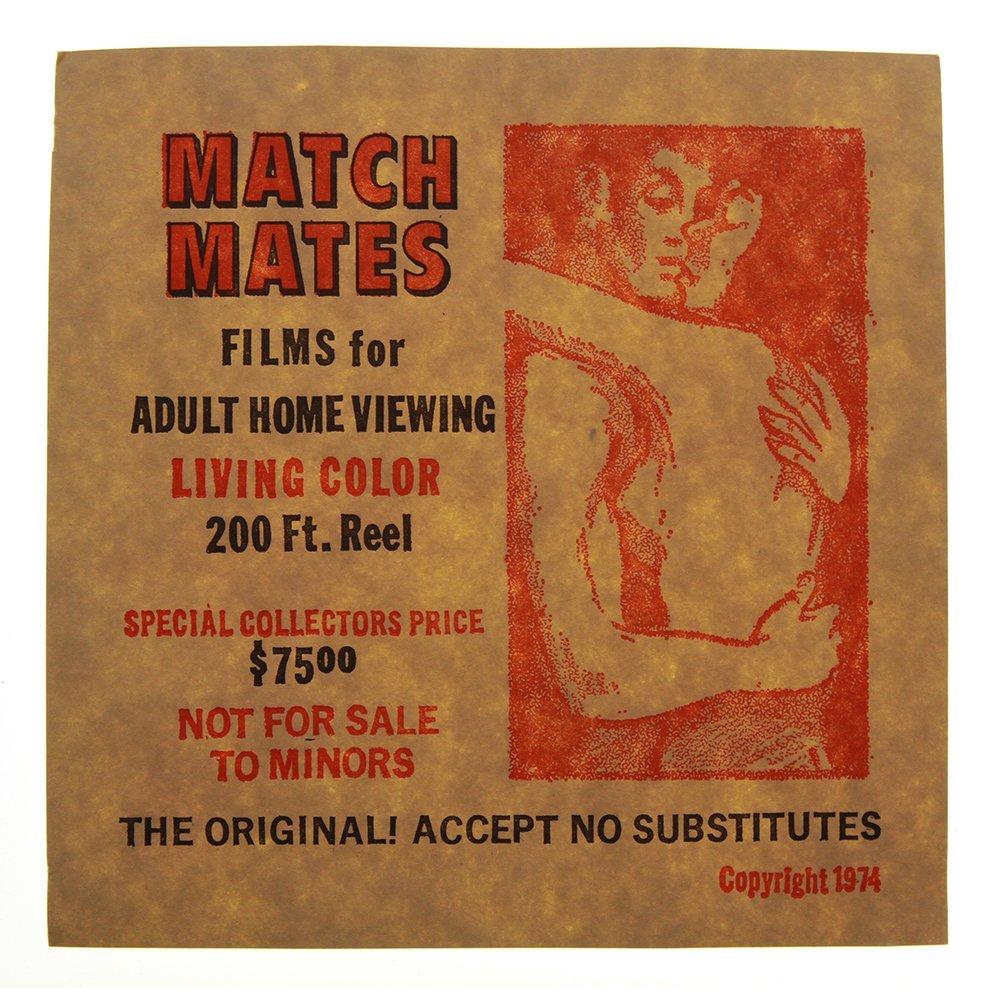 Vintage 8mm 1974 Adult Film - 200 ft Color Reel - CR 20 - 4