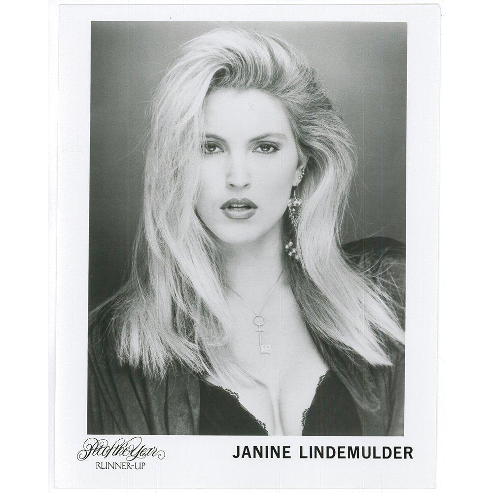 Janine Lindemulder 8x10 Penthouse Publicity Headshot