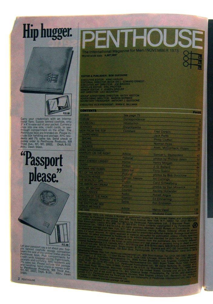 Nov 1973 Penthouse Mag Feat. Debbie Griffin (G) - 2