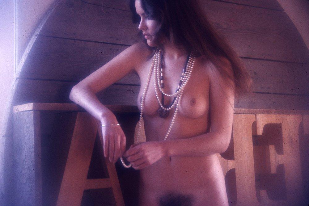 Martine LeMauviel 1975 35mm By Bob Guccione