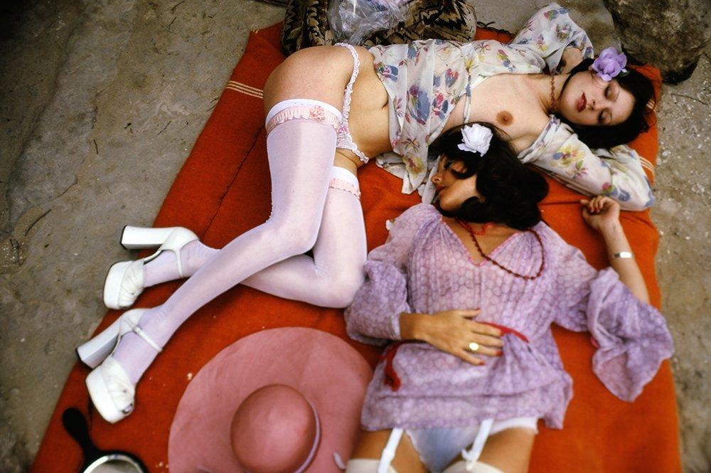 Helen & Tracy 1976 35mm By Bob Guccione