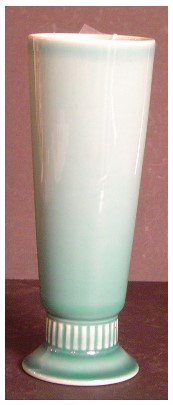 269: ROOKWOOD PALE BLUE GLAZED VASE, H7 3/4""