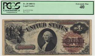 Fr. 28 1880 $1 Legal Tender