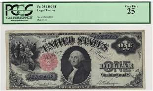 Fr. 35 1880 $1 Legal Tender