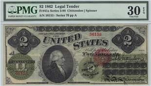 Fr. 41a 1862 $2 Legal Tender