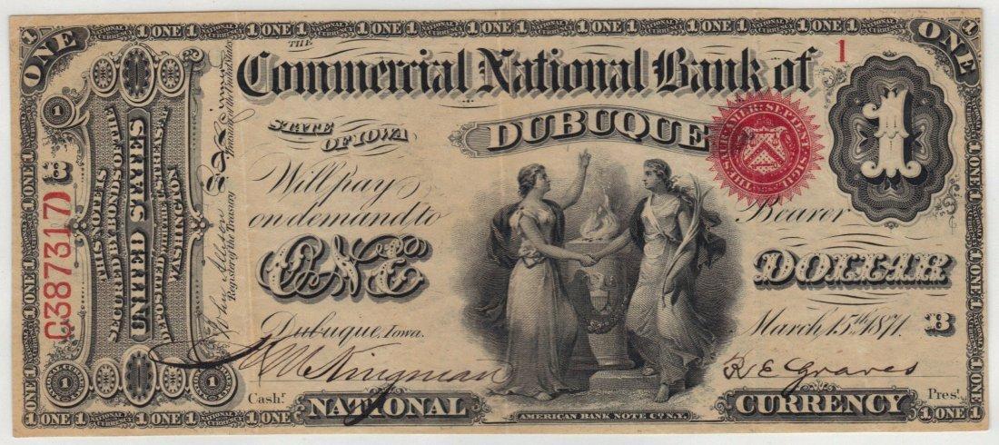 Dubuque, IA $1 Original Series
