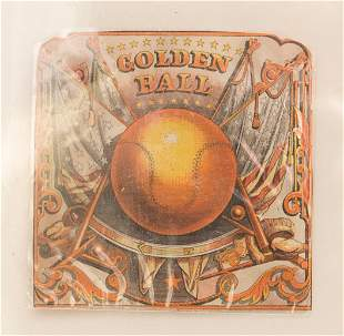 Golden Ball Cigar Label