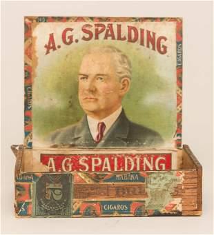 A.G. Spaulding Cigar Box