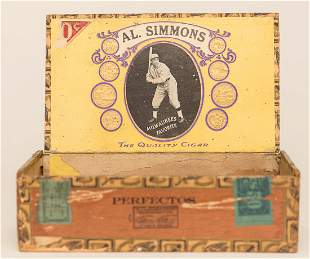 Al Simmons Cigar Box