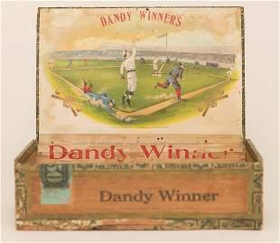 Dandy Winners Cigar Box