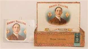 Harry Pulliam Cigar Box & Label