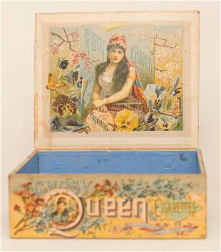 Gypsy Queen Tobacco Display Box