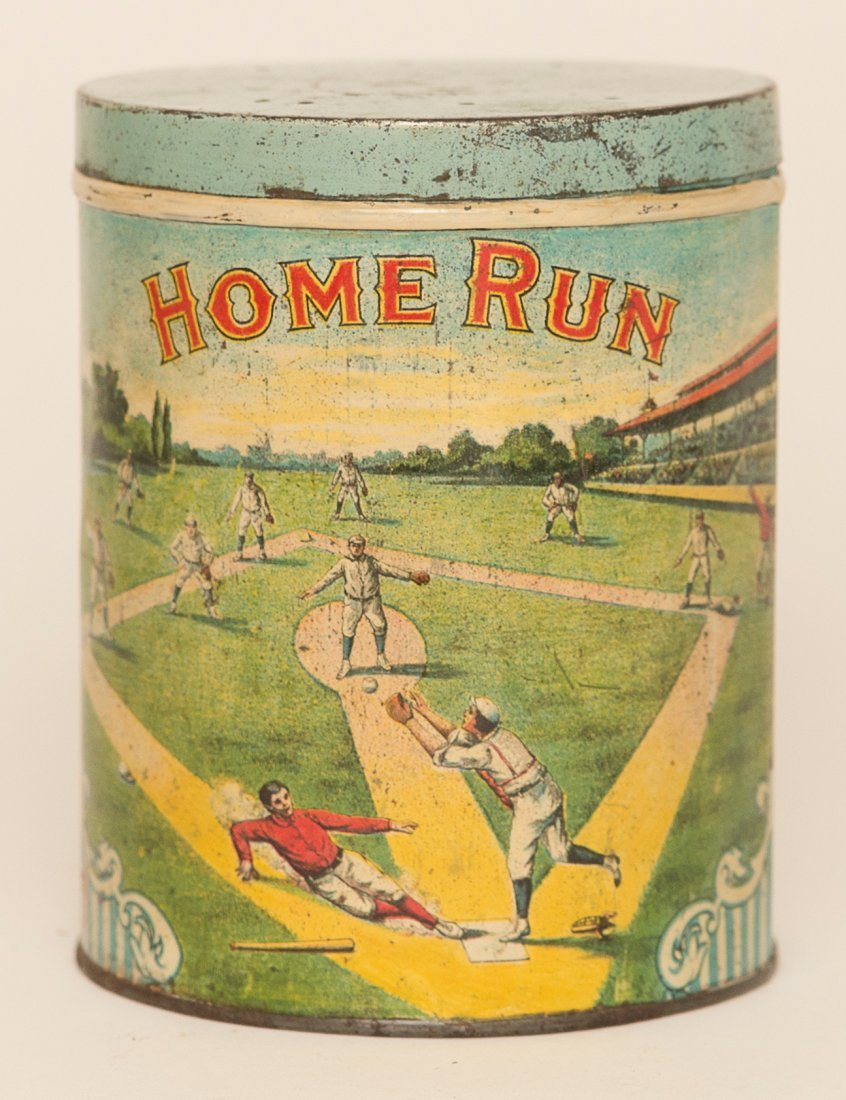 Home Run Cigar Tin