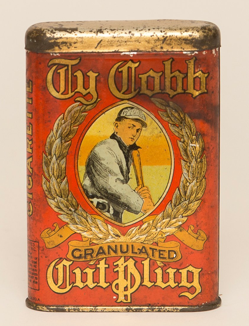 Ty Cobb Tobacco Tin
