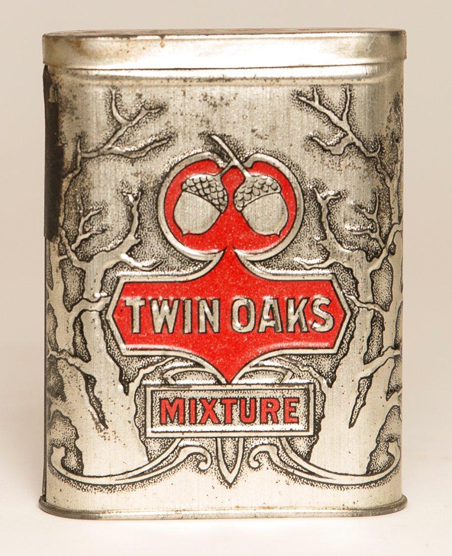 Twin Oaks Mixture Tobacco Tin