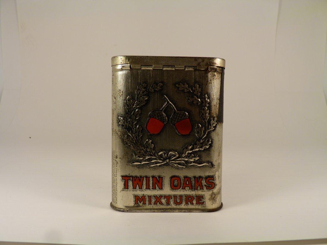 Twin Oaks Mixture Tobacco Tin - 2