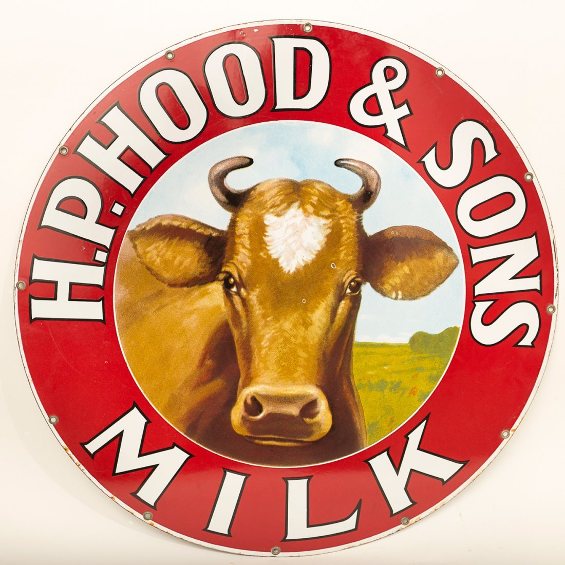 HP Hood & Sons Milk Sign