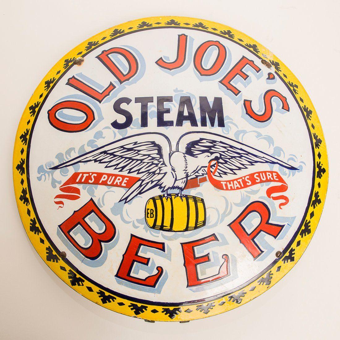 Old Joe's Steam Beer Sign