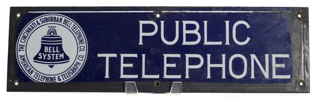 Bell Telephone Strip Sign
